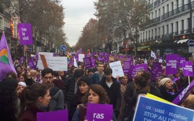 #NousToutes: Women's unprecedented marches in France against gender based and sexual violence
