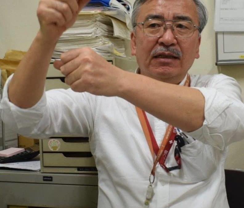 Katsumi Takenaka, 62 ans, première victime d'amnésie traumatique à parler au Japon