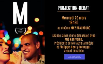 Projection débat documentaire M. le 20 mars à Paris
