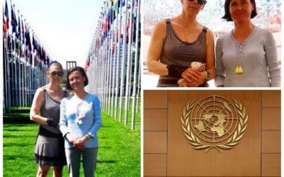 À L' United Nations Human Rights à Genève avec Marie Rabatel pour défendre les droits des enfants